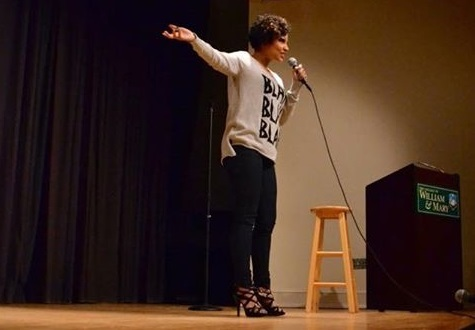 Once an Army captain, now a stand-up comedian Williamsburg resident uses laughter to heal