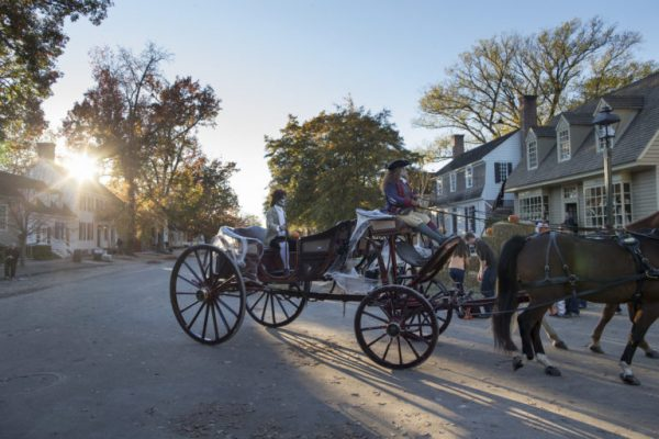 """This year's Halloween festivities will include """"spooky"""" carriage rides through the Historic Area. (Courtesy Colonial Williamsburg)"""