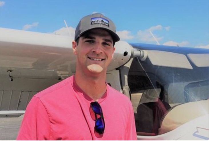 with pilot father as inspiration williamsburg native lifts off as