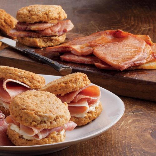 Keith Roberts recommends recipes with bacon and biscuits to get any Super Bowl party started. (Photo courtesy of Edward's Smokehouse)