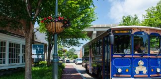 Trolley drivers can help visitors get where they want to go and help them find the hidden historic gems in Yorktown. (Courtesy photo/York County)