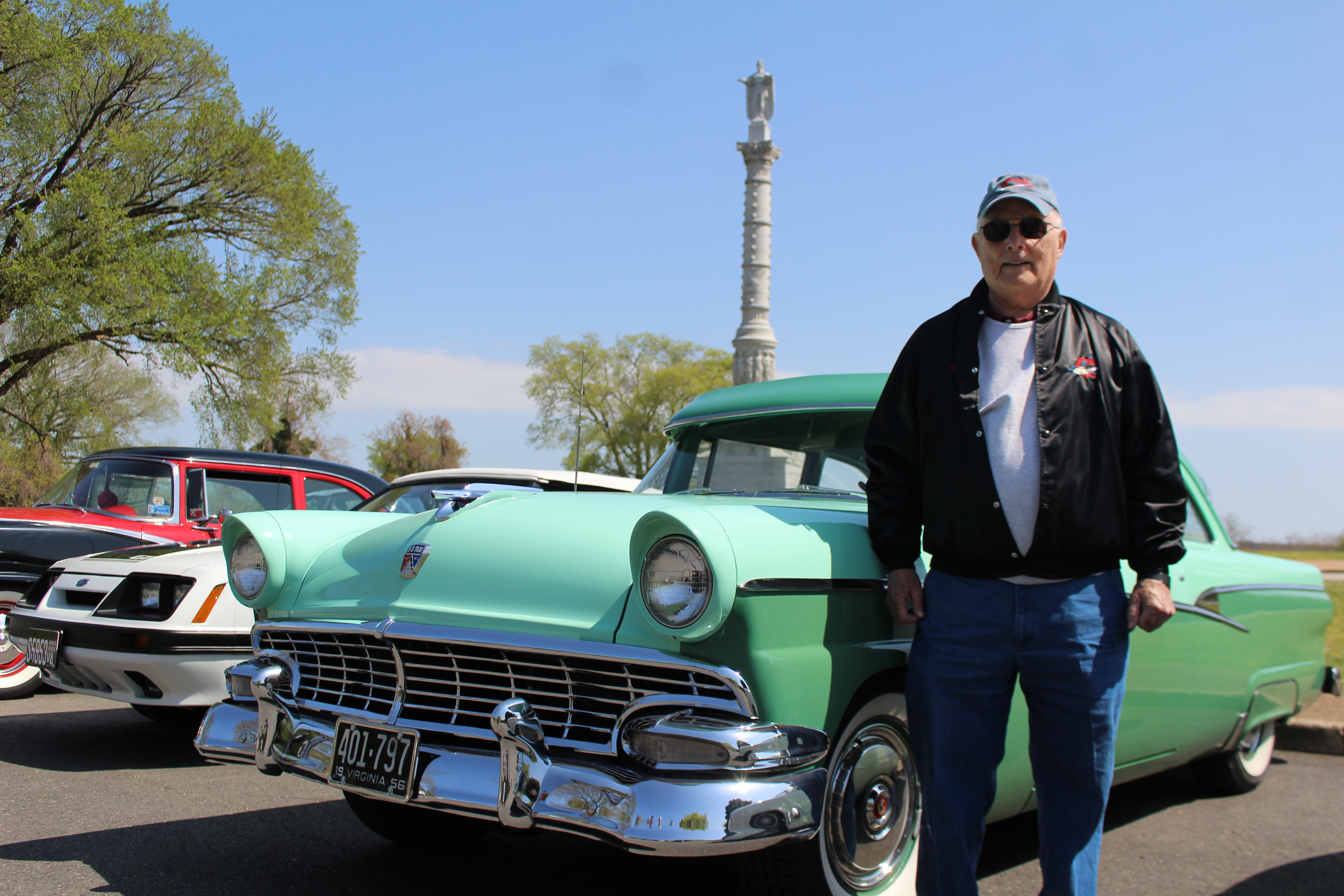 Like High School But With Better Cars For These Area Nostalgia 1949 Ford Crown Victoria Ray Colesworthy An Army Veteran And Former Aerospace Engineer Enjoys Working