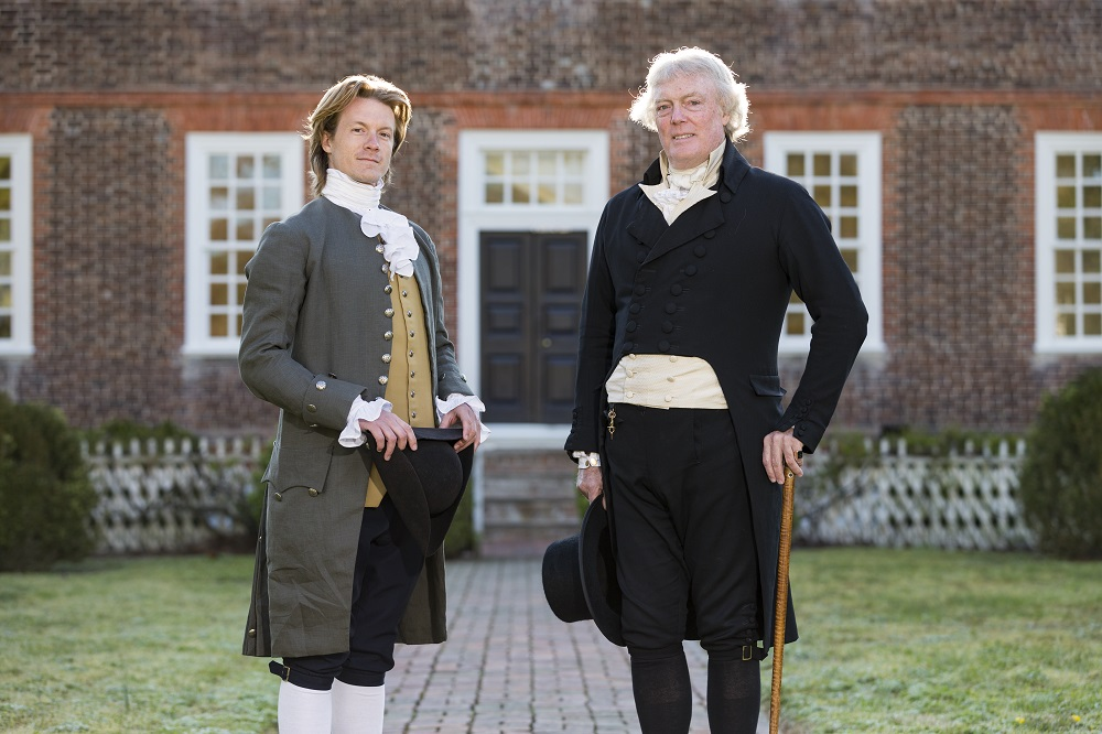 Inside colonial williamsburg meet the men who keep thomas jefferson kurt smith as the younger thomas jefferson and bill barker as older jefferson at the wythe solutioingenieria Gallery