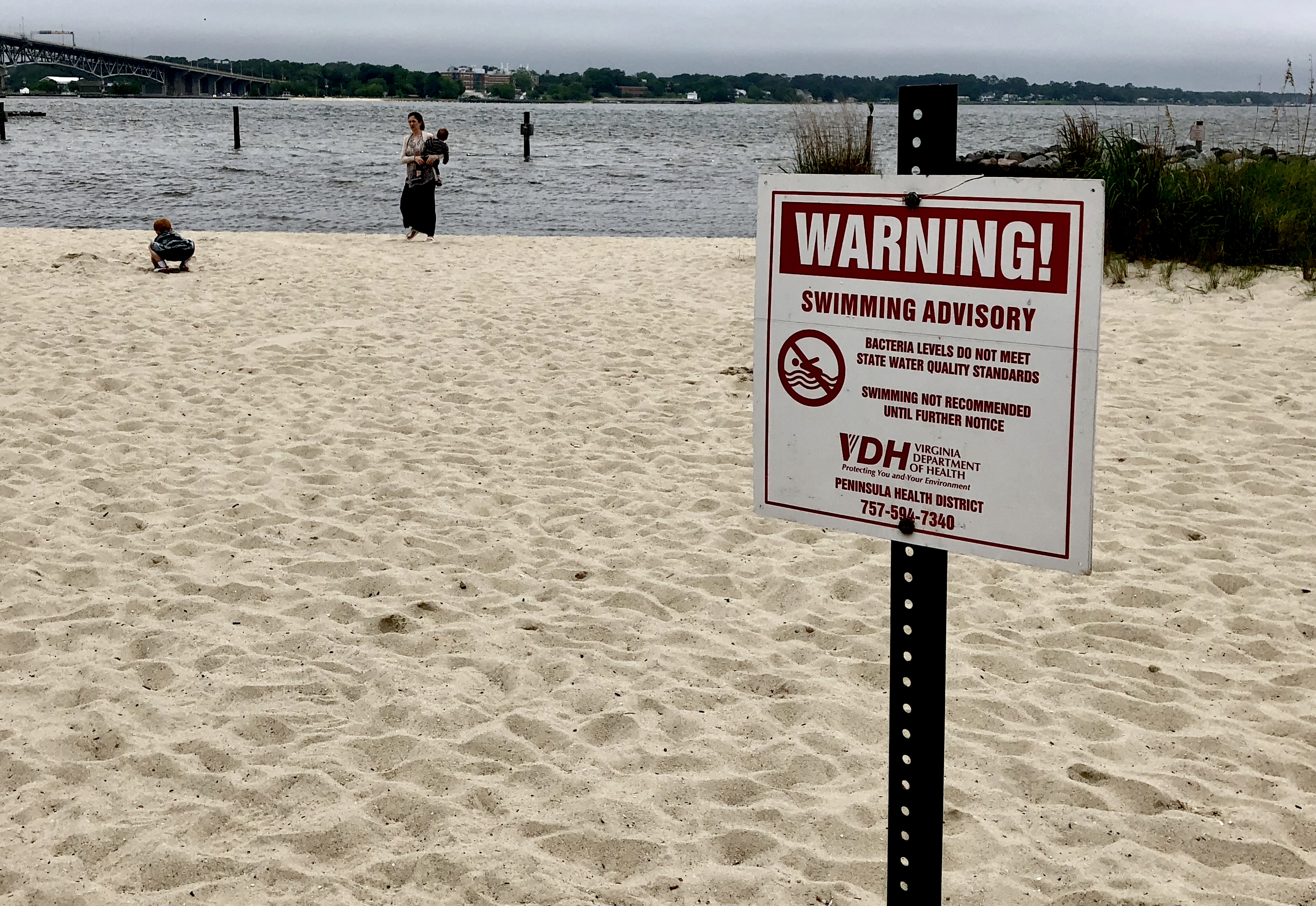High Levels Of Bacteria Found In Waters