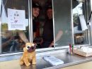 Sam (left) and Scott Coelln opened their The Hungry Pug food truck Monday. (Andrew Harris/WYDaily)