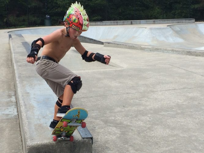 The James City County Recreation Center will host a Skate Jam this Friday. (WYDaily/Courtesy of Max Pfannebecker)