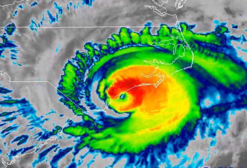 Killer storm Florence dumping 'epic amounts of rainfall' on Carolinas