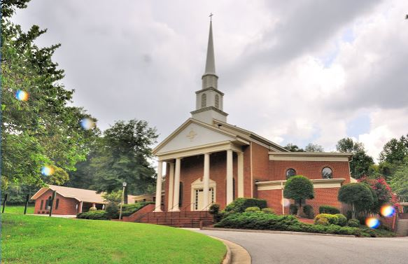 Walnut Hills Baptist Church is the home of the new GriefShare program that helps to bring support to those suffering from the loss of a loved one. (WYDaily/Google Maps)