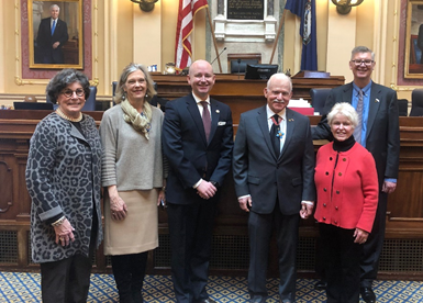 William Kelso, director of archaeological research and interpretation at Historic Jamestowne, was honored by the Virginia House of Delegates in January for his historic discoveries. (WYDaily/Courtesy Jamestown Rediscovery)