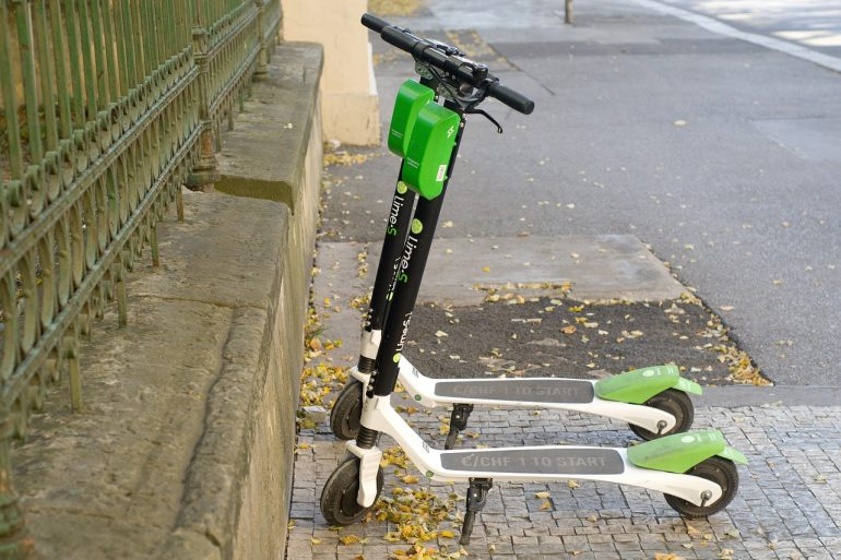 Lime scooters (Southside Daily file/Courtesy of Pixabay)