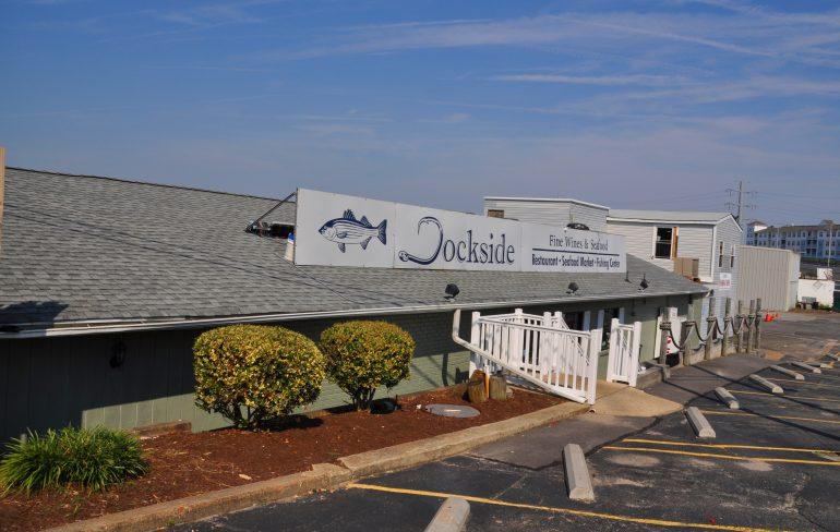 Dockside Restaurant and Marina, located at 3311 Shore Drive near the Lynnhaven Inlet (Rami (Rami Yoakum/Southside Daily)