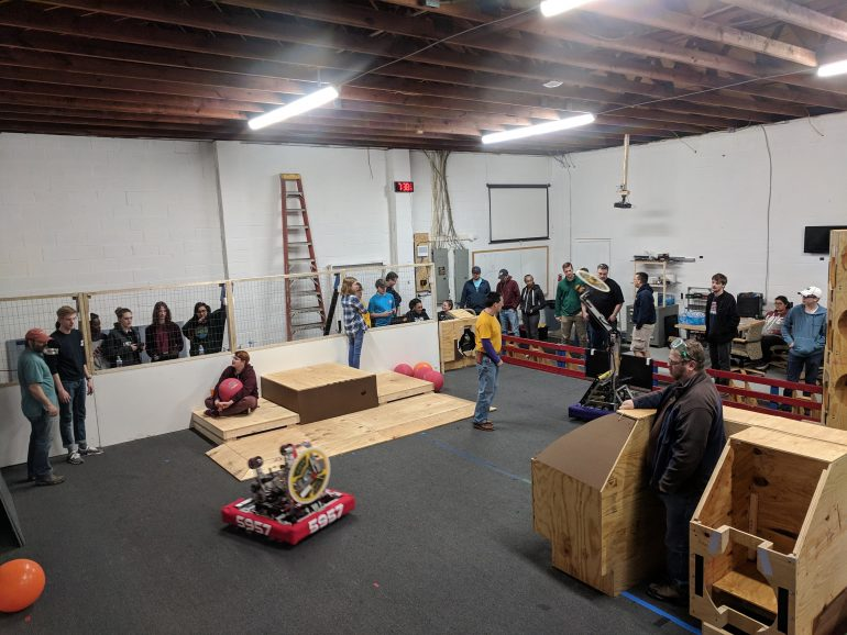The Peninsula STEM Gym opened last fall in Newport News (WYDaily/ Courtesy of the Intentional Innovation Foundation)