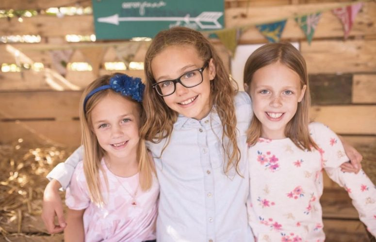 Horning said that the inspiration for the ice cream shop came from her daughter's severe peanut allergies, which had made it difficult to find safe food establishments. Horning has three daughters, Lily Belle (right), Teagan, and Hayden.(WYDaily/Courtesy Jenna Horning)