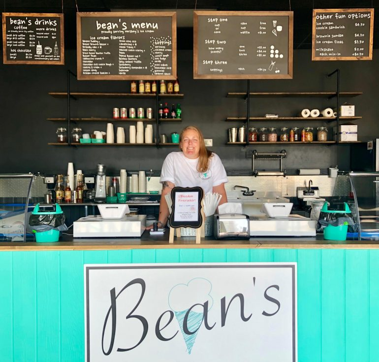 Jenna Horning is opening a new ice cream shop in Poquoson that will provide peanut-free products to ensure the safety of customers will allergies. (WYDaily/Courtesy Jenna Horning)