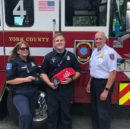 The York County Department of Fire and Life Safety recently received 10 pet respirator masks from a donation from the Every Snout Counts Foundation. (WYDaily/Courtesy of YCFLS)