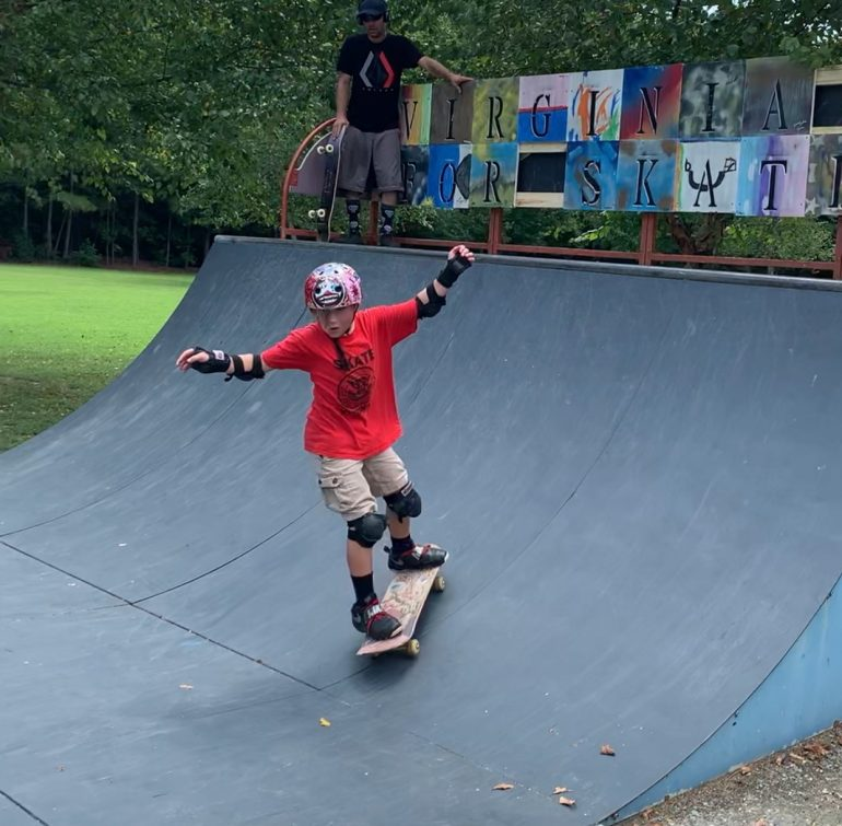 On Saturday, Revolution Golf and Grille alongside the Historic Triangle Skateboarding Alliance will host a skateboarding competition in honor of a local student who died of addiction and depression in January. (WYDaily/Courtesy Max Pfannebecker)