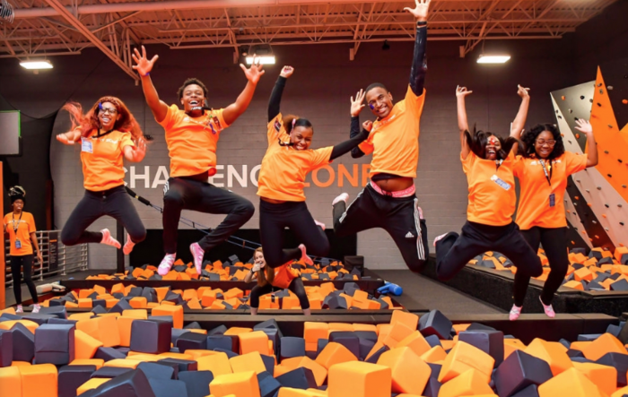 Screenshot of the Sky Zone location in Baltimore, Maryland. (WYDaily/ Courtesy of Sky Zone)