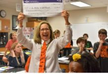 On October 31, 2019, The York Foundation for Public Education Prize Patrol presented close to $13,500 in Fall Innovative Instructional Grants to 43 teachers from the York County School Division. (WYDaily/Courtesy York Foundation)