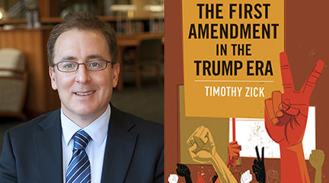 Timothy Zick believes the principles involved in the lessons he's drawing about the First Amendment in the current era are useful for readers to know and to embrace regardless of their political beliefs. (WYDaily/Courtesy of W&M Law School)
