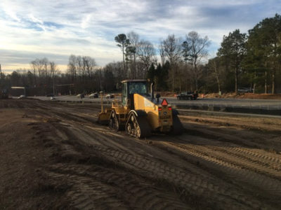 Longhill Road Widening Project underway. (WYDaily/Courtesy of VDOT)