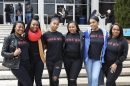 Kayla Jones (middle) is the president for Old Dominion University's chapter of The Good Girl Movement, an organization with a mission to redefine the narrative for black women. (WYDaily/Courtesy Brooklyne Baker)
