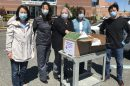 The Peninsula Chinese American Association has been working to be part of the solution to the coronavirus with financial and personal protective equipment donations. (WYDaily/Courtesy Elizabeth Tai)
