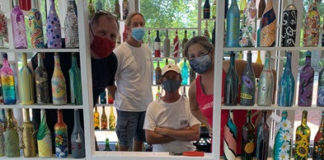 The Williamsburg Regional Library is hosting a community art project that captures life in quarantine. (WYDaily/Williamsburg Regional Library)