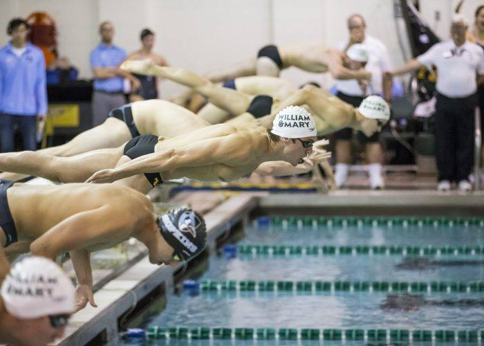 The College of William & Mary announced on Sept. 3 the university would cut seven sports including the men's and women's swim team, effective for the 2021-2022 academic year. (WYDaily/ Courtesy of Save Tribe Swimming's Facebook page)