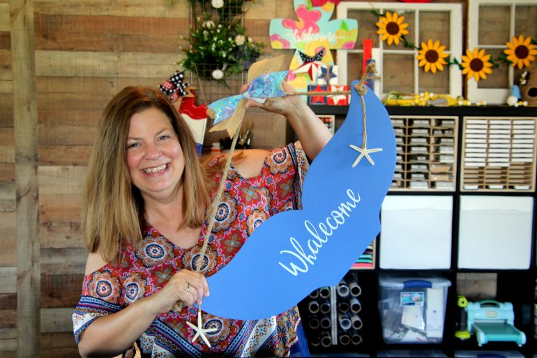 Kim Kellogg, owner of Lilac Lane DIY. (WYDaily/Courtesy of Kim Kellogg)