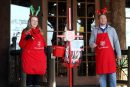 Salvation Army bell ringers/. (WYDaily/ Courtesy of The Salvation Army)