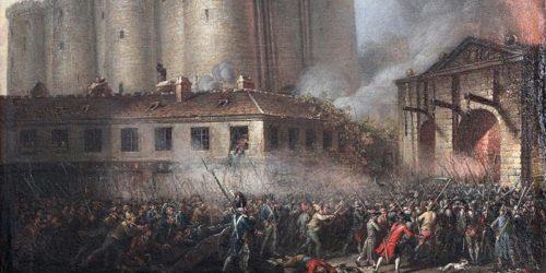 Prise de la Bastille en 1789 (avec la permission de l'histoire sur le net, Salem Media)