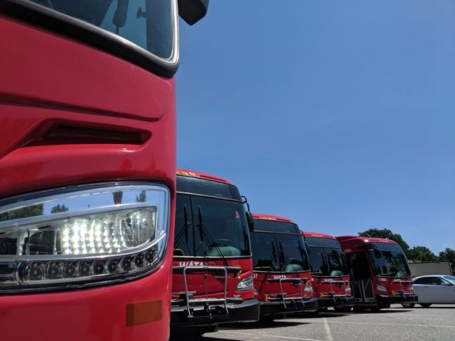 The Williamsburg Area Transit Authority saw an eight percent decrease in total ridership last year but saw a 20 percent increase in paratransit riders. (WYDaily/File photo)